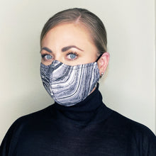 "Load image into Gallery viewer, ""Imagine"" Couture Face Mask - Sold Out"