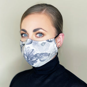 """Serenity"" Couture Face Mask"
