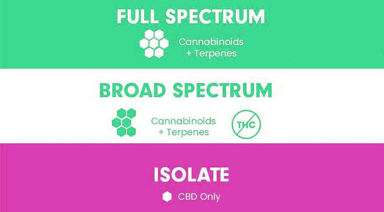 What is the difference between Isolate, Broad Spectrum and Full Spectrum CBD? CBD Emporium