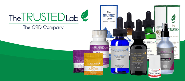 The Trusted Lab Line up of CBD Products at CBD Emporium Locations