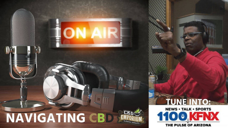 Tune into Navigating CBD with Isaac Griffin on 1100KFNX Sunday 11 to 12(noon) Arizona time
