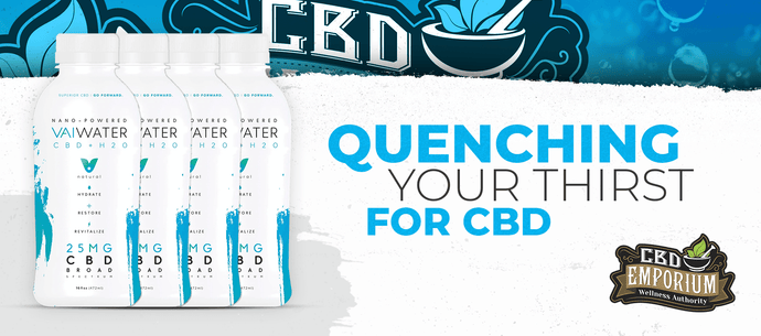 Vai CBD Water - Quenching Your Thirst For CBD
