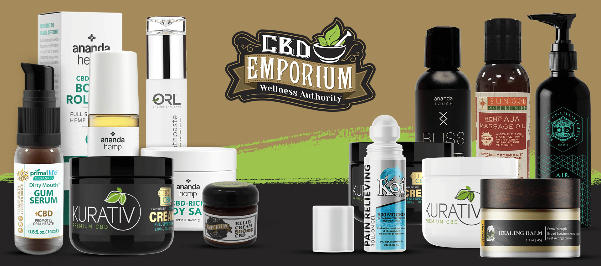 CBD Bath and Body: CBD Lotions, Salves, Creams, Patches and CBD bath products from CBD Emporium