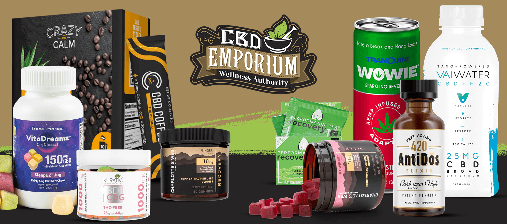 CBD Edibles & Beverages from CBD Emporium