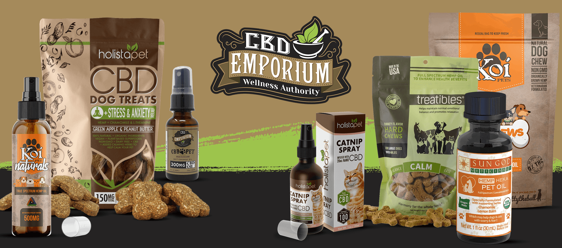 CBD for Pets from CBD Emporium