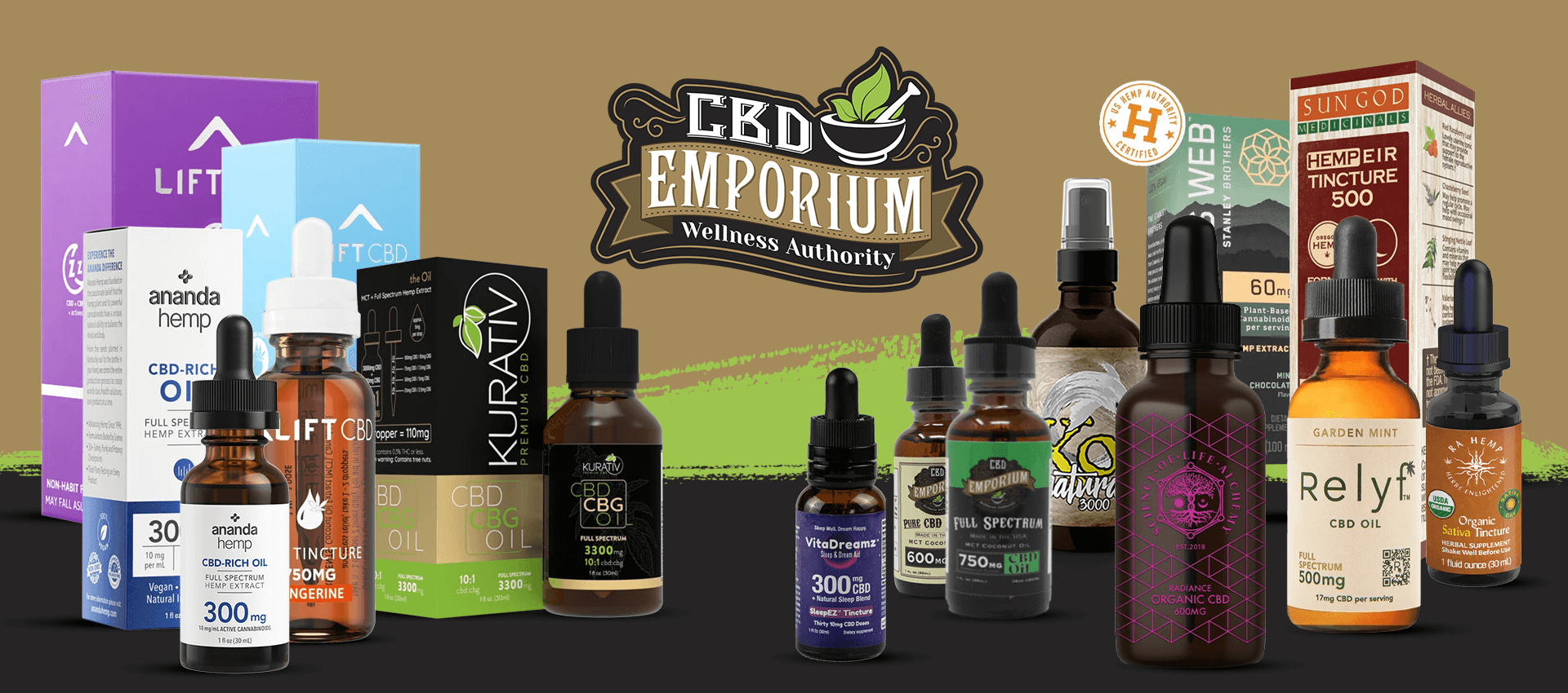 CBD Tinctures and CBD Oils at CBD Emporium