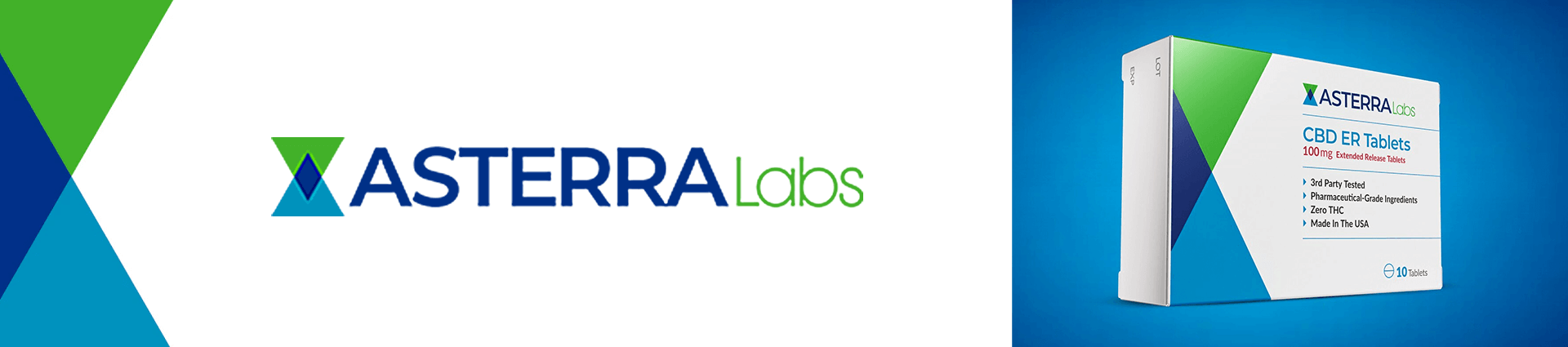 Asterra Labs CBD Tablets Extended Release