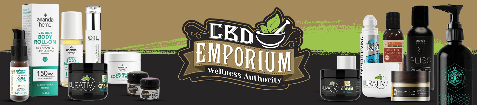 CBD Bath and Body products at CBD Emporium