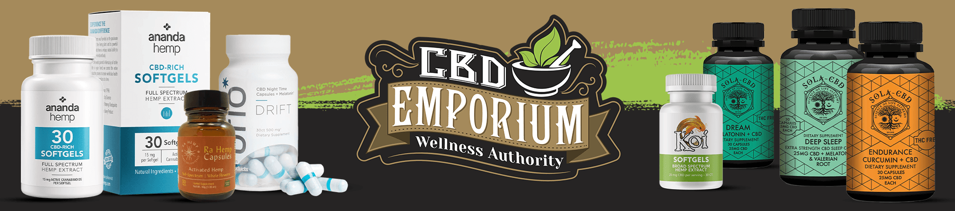 CBD Capsules products at CBD Emporium