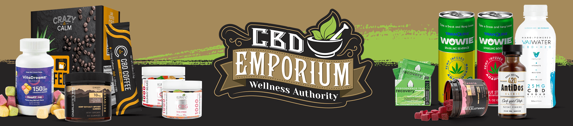 CBD Edibles & Beverages products at CBD Emporium