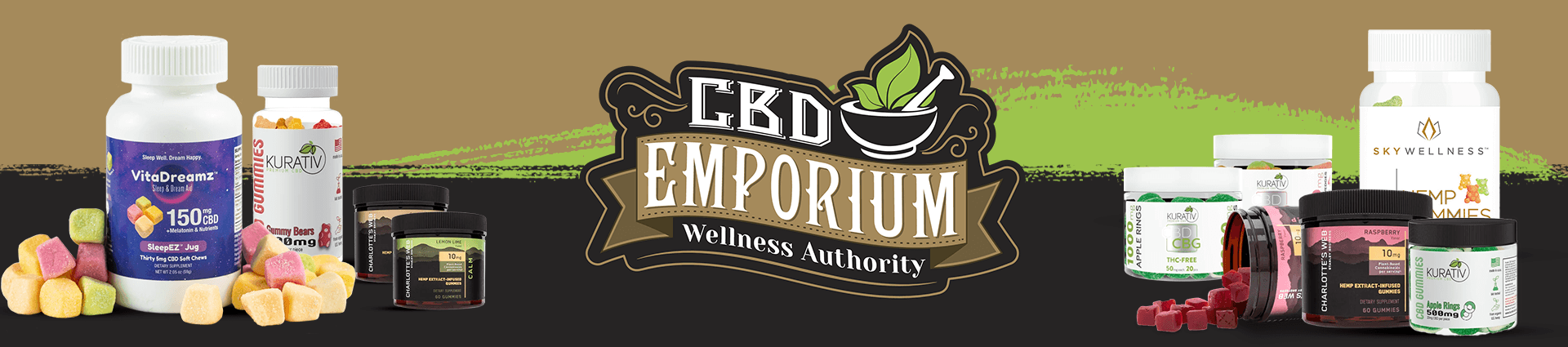 CBD Gummies Sold at CBD Emporium