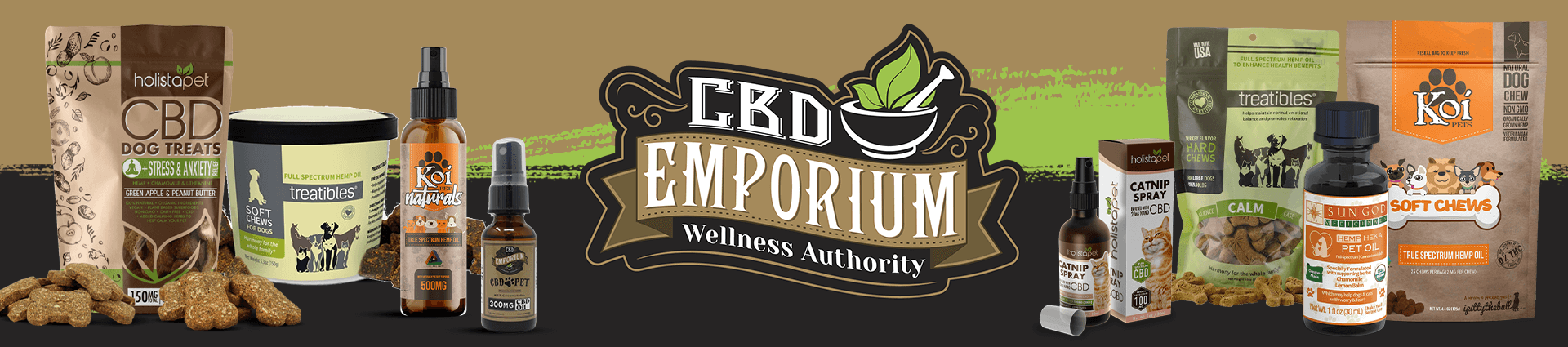 CBD for Pets products at CBD Emporium
