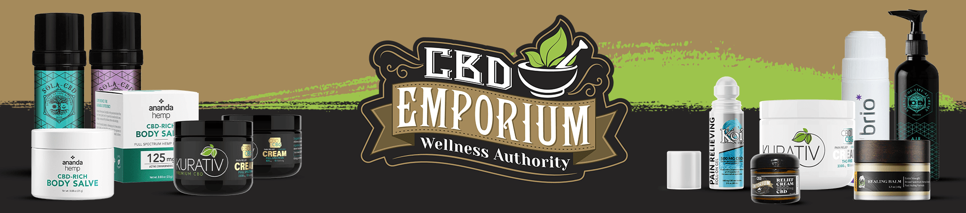 CBD Topicals at CBD Emporium