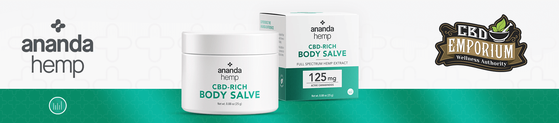 Ananda Hemp CBD Body Salve carried at CBD Emporium