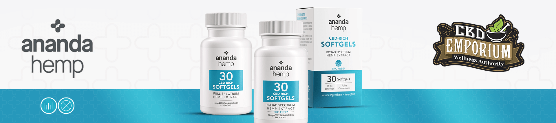 Ananda Hemp CBD Soft Gels at CBD Emporium