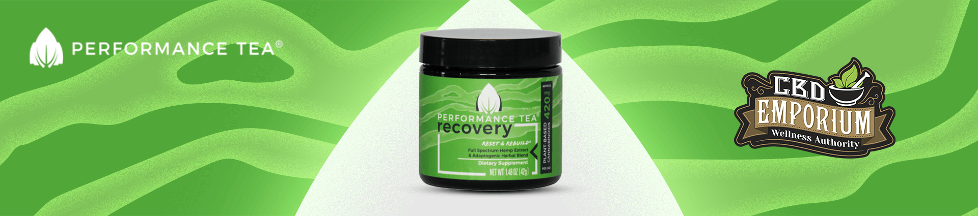 Recovery Instant CBD Blend from Performance Tea
