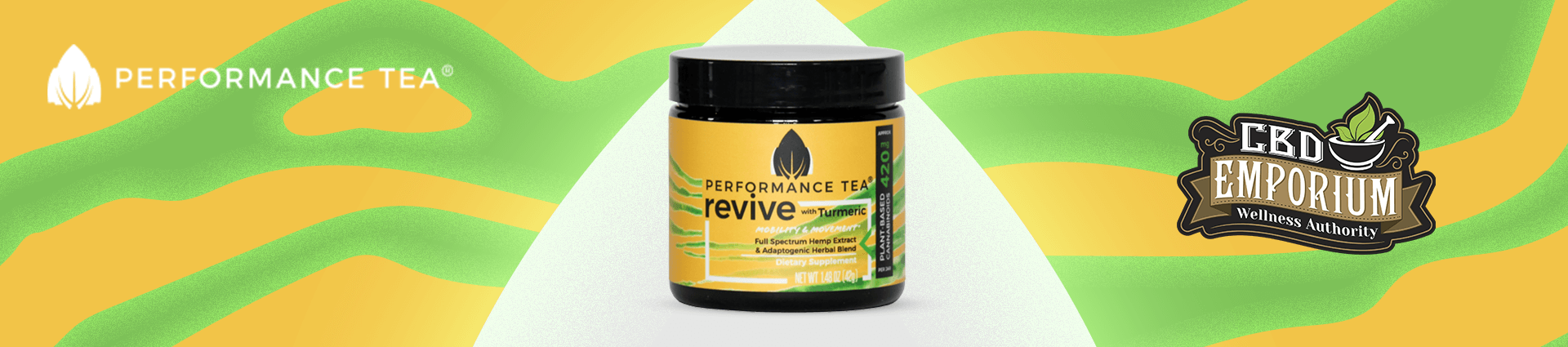 Revive Instant CBD Blend from Performance Tea