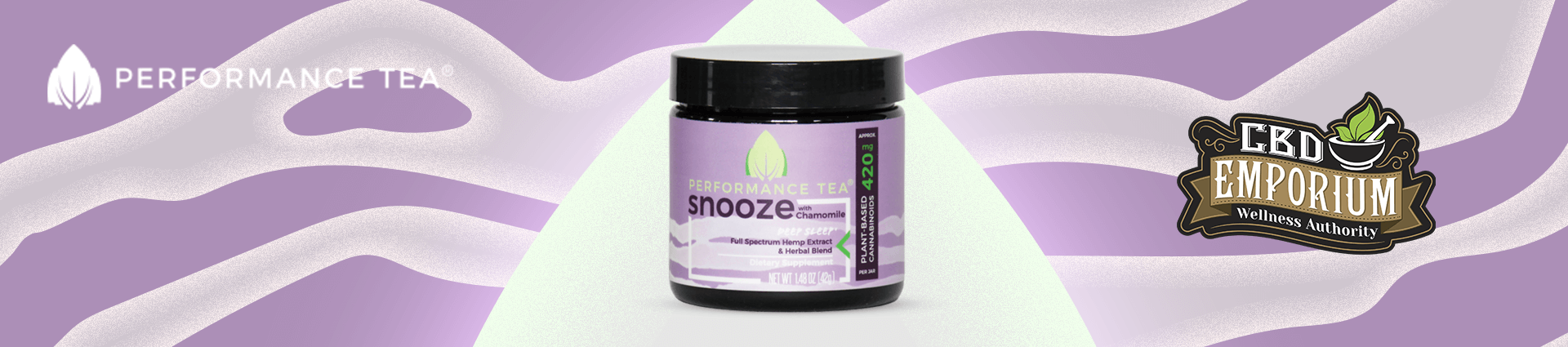 Snooze Instant CBD Blend from Performance Tea