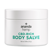Ananda Hemp Full Spectrum Topical Salve - 125mg, 1oz-CBD Emporium