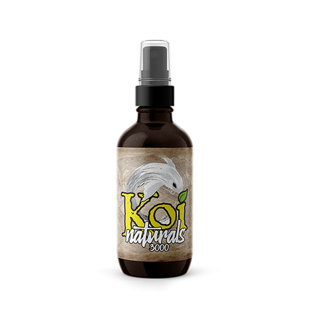 Koi Naturals Hemp Extract Tincture, Lemon-Lime - 3,000mg, 2oz