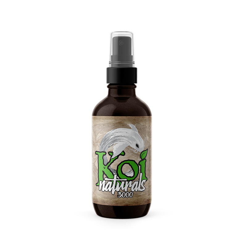 Koi CBD Hemp Extract Tincture, Spearmint - 3,000mg, 2oz (a Tincture) made by Koi CBD sold at CBD Emporium