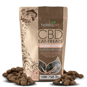 Holistapet CBD Cat Treats - 150mg, 75ct