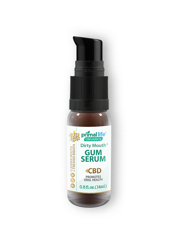 Primal Life Organics, Dirty Mouth CBD Gum Serum-CBD Emporium