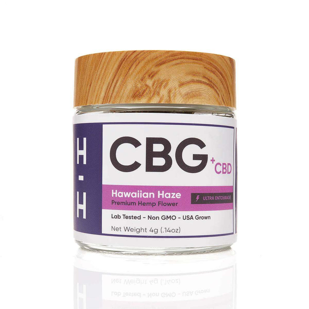 H Hemp CBD Flower Jar - 4G (a Flower) made by H Hemp sold at CBD Emporium