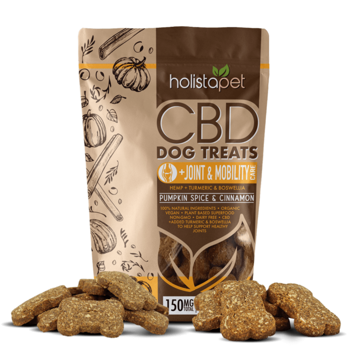 Daily Deal - Holistapet CBD Dog Treats, Joint & Mobility Care - 150mg, 30ct
