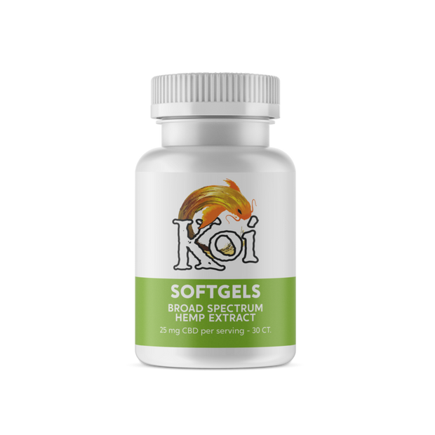 Koi Naturals Hemp Extract Capsules, Natural - 750mg, 30ct-CBD Emporium