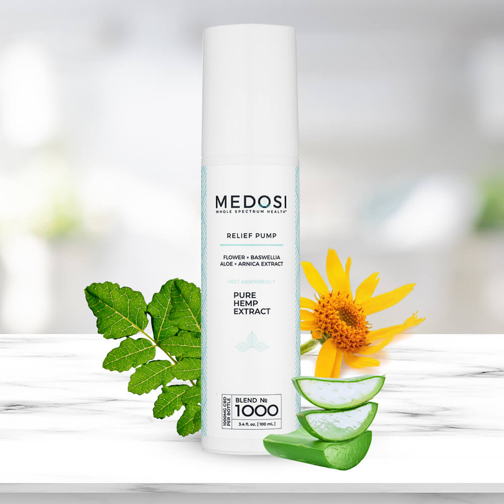 Medosi Cream Pump 1000mg from CBD Emporium