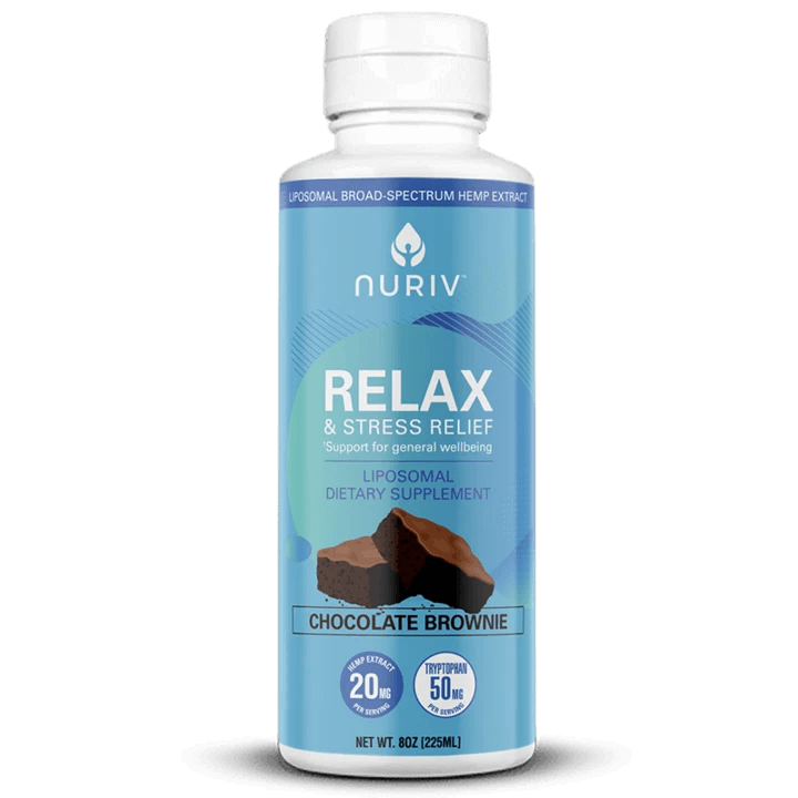 Nuriv CBD Extract, Relax & Stress - 8oz (a Beverage) made by Nuriv sold at CBD Emporium