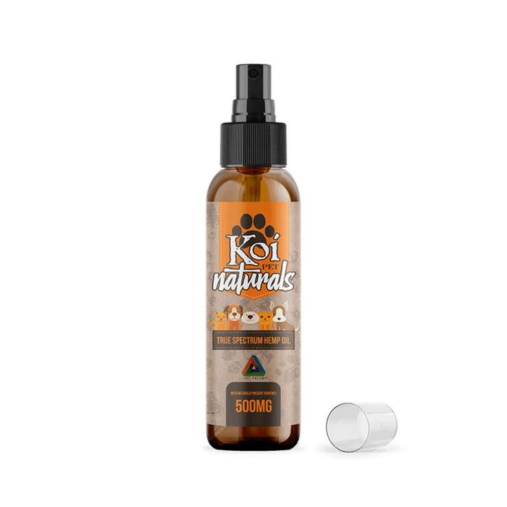 Koi Naturals Hemp Extract CBD Pet Spray - 500mg, 2.7oz-CBD Emporium