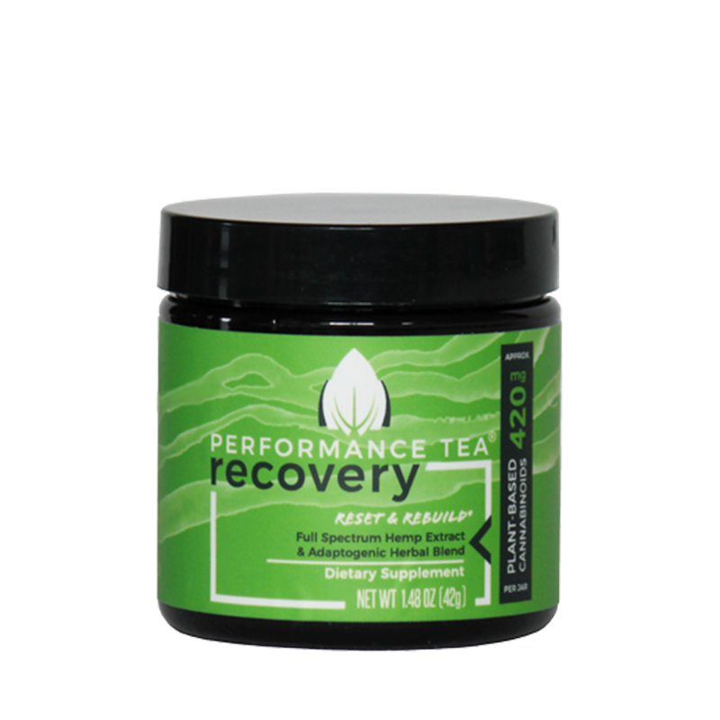 Performance Tea, Recovery CBD Blend - 420mg, 1.48oz-CBD Emporium