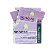Performance Tea, Box of Snooze CBD Packets - 20mg, 10ct