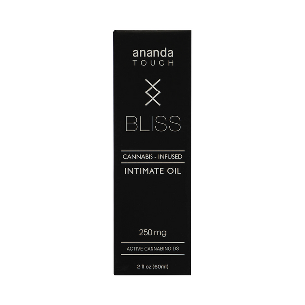Ananda Hemp Full Spectrum Bliss Intimate Oil - 250mg, 2oz