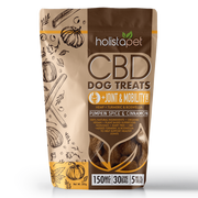 Holistapet CBD Dog Treats, Joint & Mobility Care - 150mg, 30ct-CBD Emporium