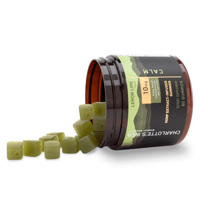 Charlotte's Web CBD Gummies, Calm - 10mg, 60ct-CBD Emporium
