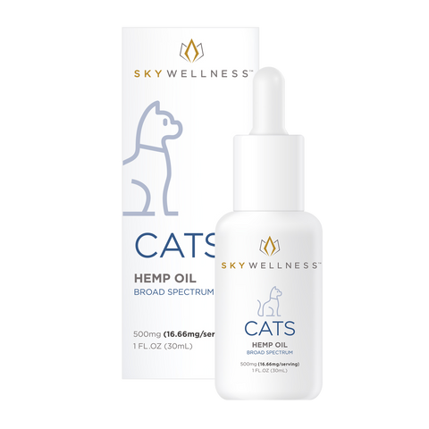 Sky Wellness Pet Tincture, Cats - 500mg, 1oz