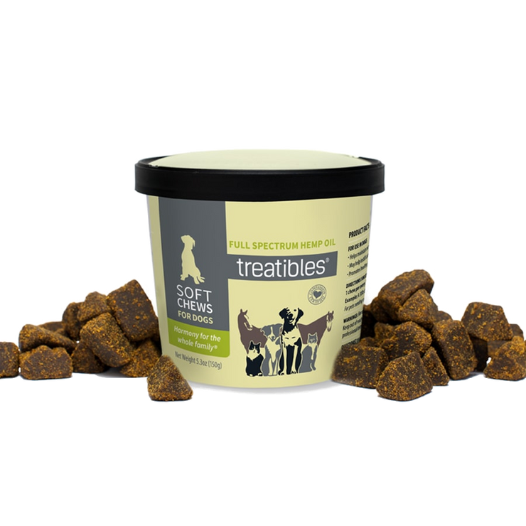 Treatibles Soft Chews for Dogs ~60 ct