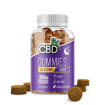 CBDfx Hemp Infused Vitamin Gummies, Melatonin - 60ct from CBD Emporium
