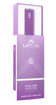 Lift CBD + CBN Disposable Vape Pen, Peppermint - 200mg, .5ml-CBD Emporium