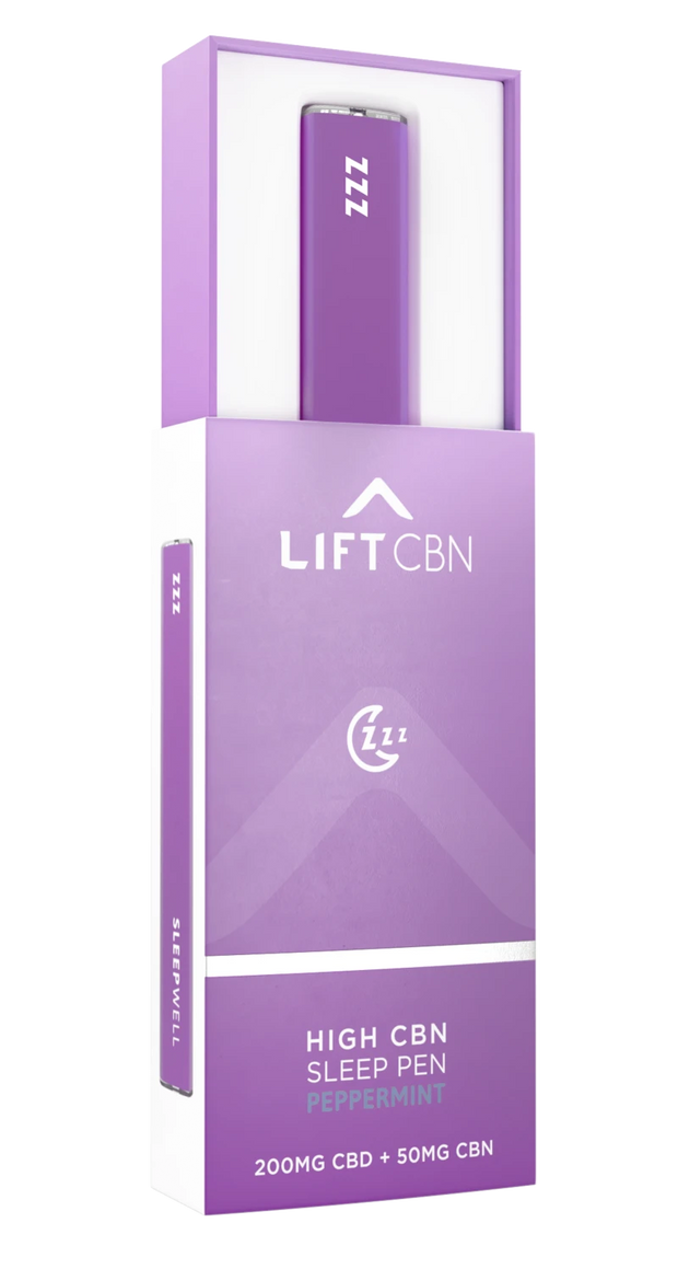 Lift CBD + CBN Disposable Vape Pen, Peppermint - 200mg, .5ml