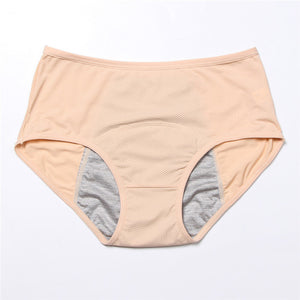Leak Proof Menstrual Period Panties Women Underwear Physiological Pants Cotton Briefs Plus Size Lingerie Waterproof Panties