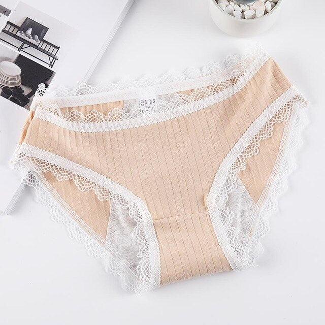 Sexy Women Lace Panties Leak Proof Menstrual Briefs Cotton Physiological Underwear Period Waterproof Pants Seamless Lingerie New