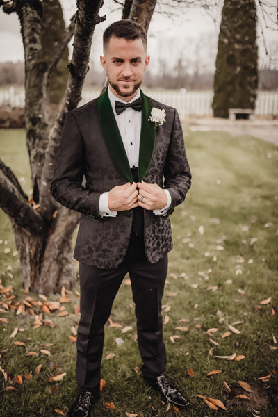 Toronto Self-Made Couture Black Wedding Suit