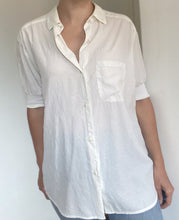 Load image into Gallery viewer, Nicole Farhi 80s embroidered shirt