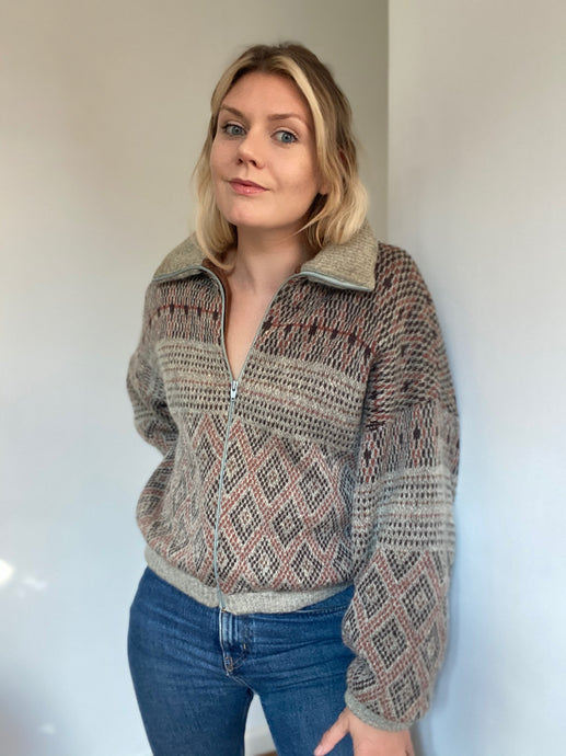 Alma knitted jacket