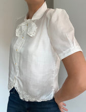 Load image into Gallery viewer, Miriam bow neck shirt