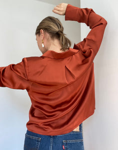 Jane - A Droopy & Browns silk shirt